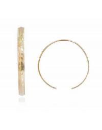 Bracelete Aberto Banhado a Ouro 18k