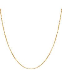 Corrente Veneziana Banhada a Ouro 18k 50 cm 1 mm