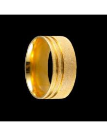 Aliancas de Ouro Grossas Diamantadas - Alianças de Noivado e Casamento