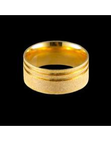 Aliancas de Prata Anatomicas Diamantadas 9,2mm Banhadas a Ouro 18k - Alianças de Noivado e Casamento