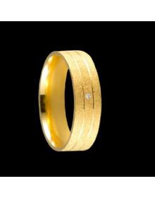 Aliancas de Ouro Anatomicas Diamantadas - Alianças de Noivado e Casamento