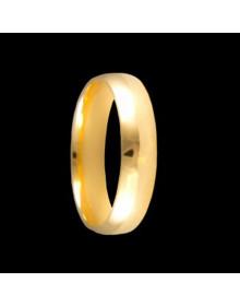 Aliancas de Ouro Anatomicas 5mm - Alianças de Noivado