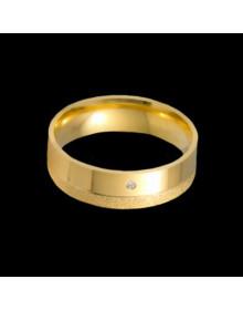 Aliancas de Ouro Anatomicas 6mm - Alianças de Casamento e Noivado