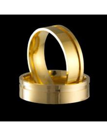 Aliancas de Ouro Anatomicas - Alianças de Casamento