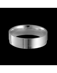 Aliancas de prata anatomicas 6mm - Alianças de Compromisso