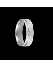 Aliancas de Prata Anatomicas Diamantadas 6mm - Alianças de Namoro e Compromisso