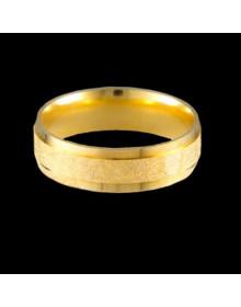 Aliancas de Ouro Anatomicas Diamantadas 6mm - Alianças de Casamento