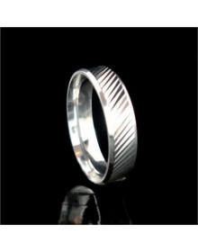 Alianca de prata trabalhadas 4,5mm