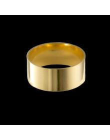 Aliancas de Prata 9 mm Banhadas a Ouro 18k - Alianças de Namoro, Compromisso, Noivado