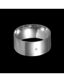 Aliancas de Prata Grossas 9mm - Alianças de Namoro e Compromisso