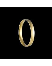 Aliancas de Ouro Tradicionais Anatomicas 2,6mm - Alianças de Casamento e Noivado