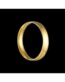 Aliancas de Ouro Tradicionais Anatomicas 3,8mm - Alianças de Casamento e Noivado