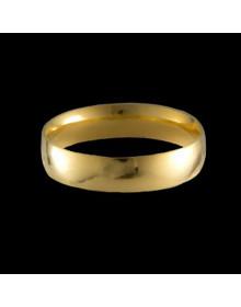 Aliancas de Ouro Tradicionais Anatomicas 4,7mm - Alianças de Casamento e Noivado