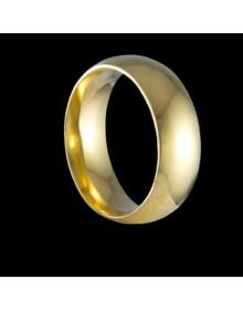 Aliancas de Ouro Tradicionais Anatomicas 6,9mm - Alianças de Casamento e Noivado
