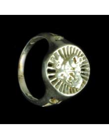 Anel São Jorge em Prata – Jóias de Prata
