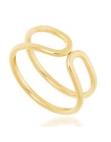Anel de Falange Feminino Dourado - Semijoias Folheadas a Ouro 18k