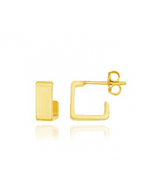 brincos de argola pequeno ouro semi joias