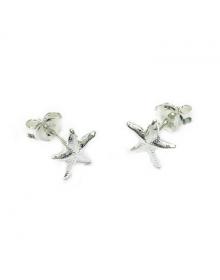 Brincos Estrela do Mar Pequenos - Joias em Prata