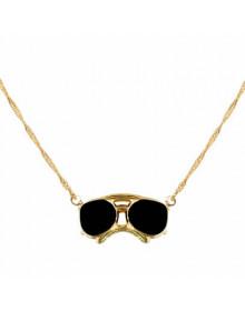 Colar Moda Óculos Folheado a Ouro 18k - Colares Femininos
