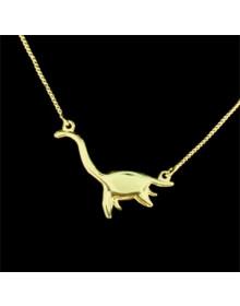 Colar Dinossauro em Prata - Colares Femininos