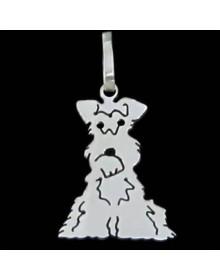 Pingente de Cachorro em Prata