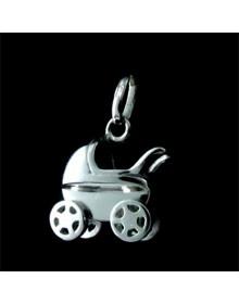 PingenteCarrinho de Bebê - Joias em Prata