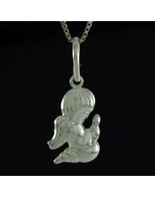 Pingente Anjo Da Guarda em Prata 925