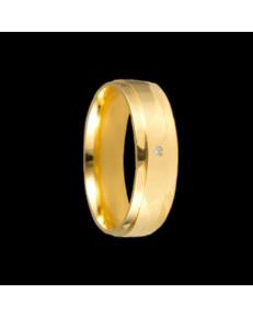 Alianças de Ouro 18k Casamento 6 mm