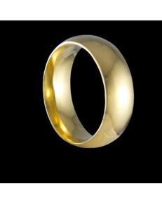 Alianças de Ouro Tradicionais Anatômicas 6,9 mm