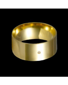Alianças de Ouro 18k Grossas 9mm