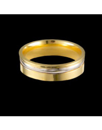 Alianças de Ouro 18k Anatômicas 5,8 mm