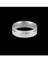 Alianças de Prata 950 Anatômicas Diamantadas 6mm