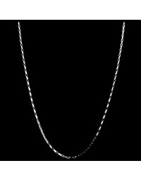 Corrente de Prata Cartier 45 cm 1,5 mm