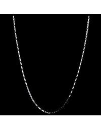 Corrente de Prata Fina Cartier 45 cm 1,0 mm