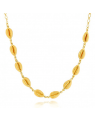 Gargantilha Coleira de Búzios Banhada a Ouro 18k - Colar da Moda