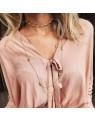 Coleira Chocker de Búzios Banhada a Ouro 18k - Colar da Moda