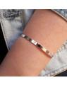 Pulseira Bracelete Cartier Banhado a Ródio Inspired - Bracelete Feminino