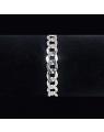 Pulseira Masculina Prata 925 8 mm